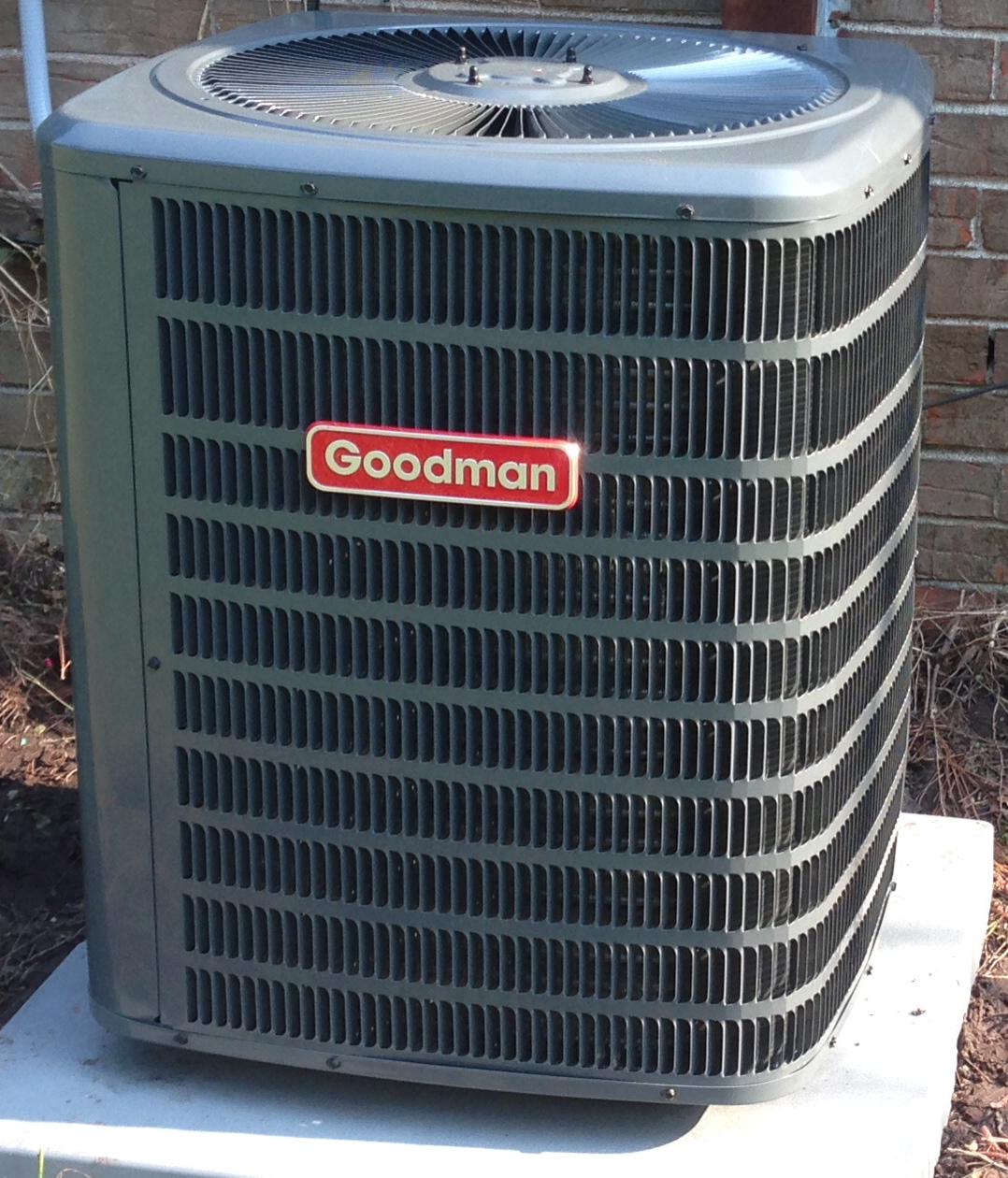 New air conditioning unit cost - Goodman Install
