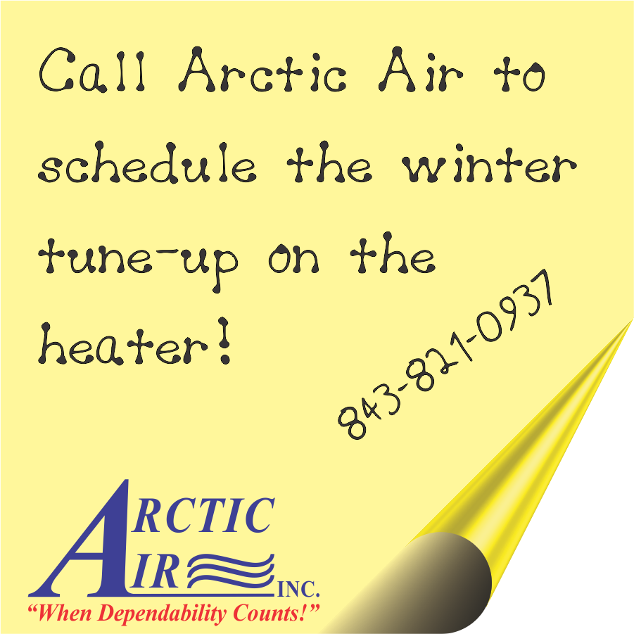 need a winter tune up on your heater charleston arctic air. Black Bedroom Furniture Sets. Home Design Ideas