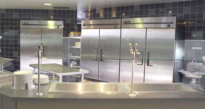Charleston Commercial Refrigeration installed by Arctic Air Inc.