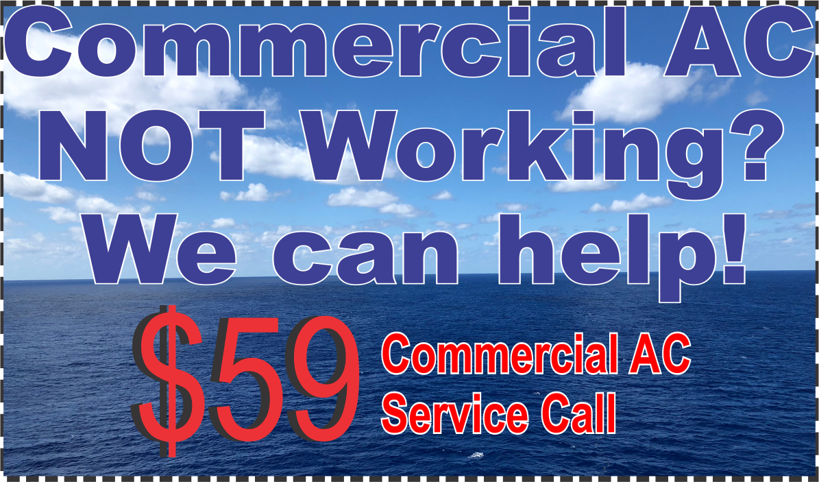 Air Conditioning Service Call Commercial