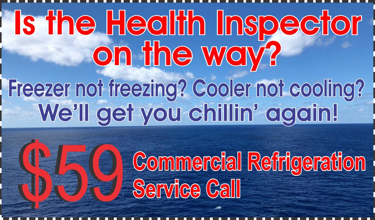 Commercial 59 Refridgeration Service Call