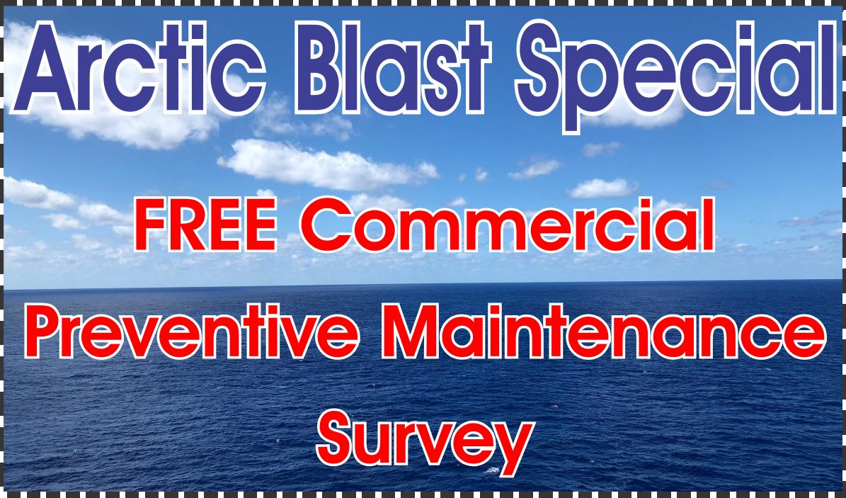 Free Preventive Maintenance Survey - Commercial