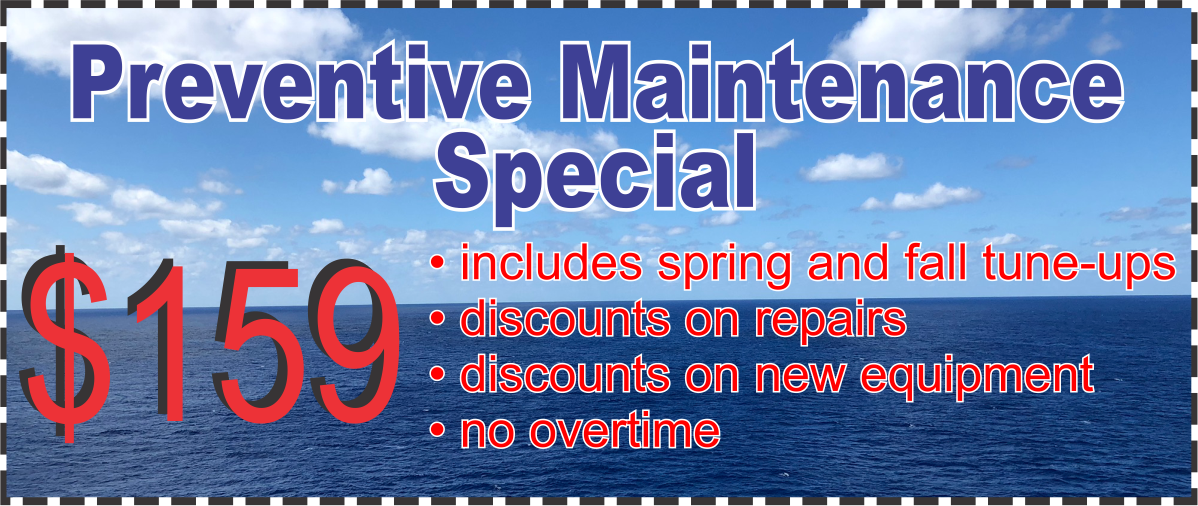 Annual Preventive Maintenance - Residential only