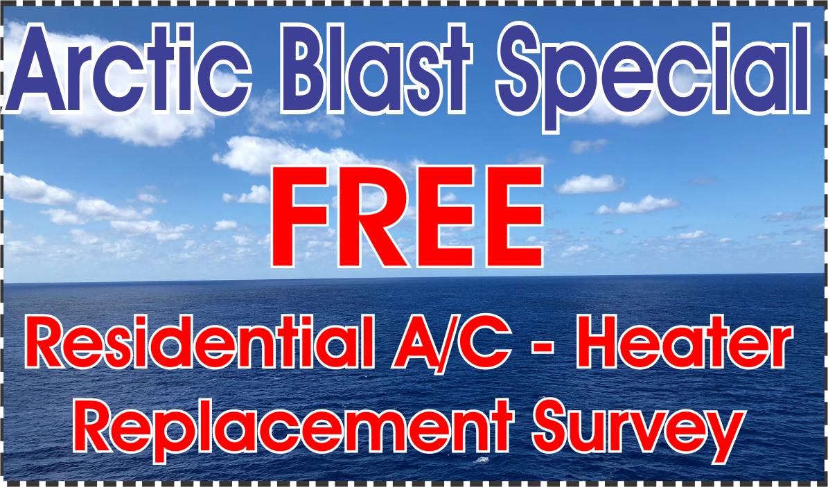 Arctic Air Free AC Replacement Survey Special
