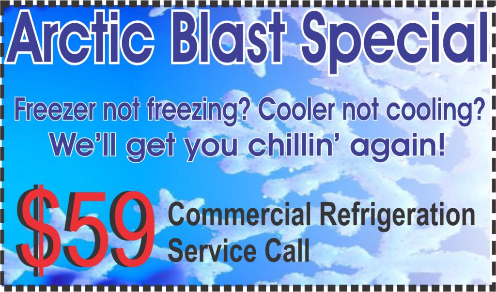 refrigeration service call coupon