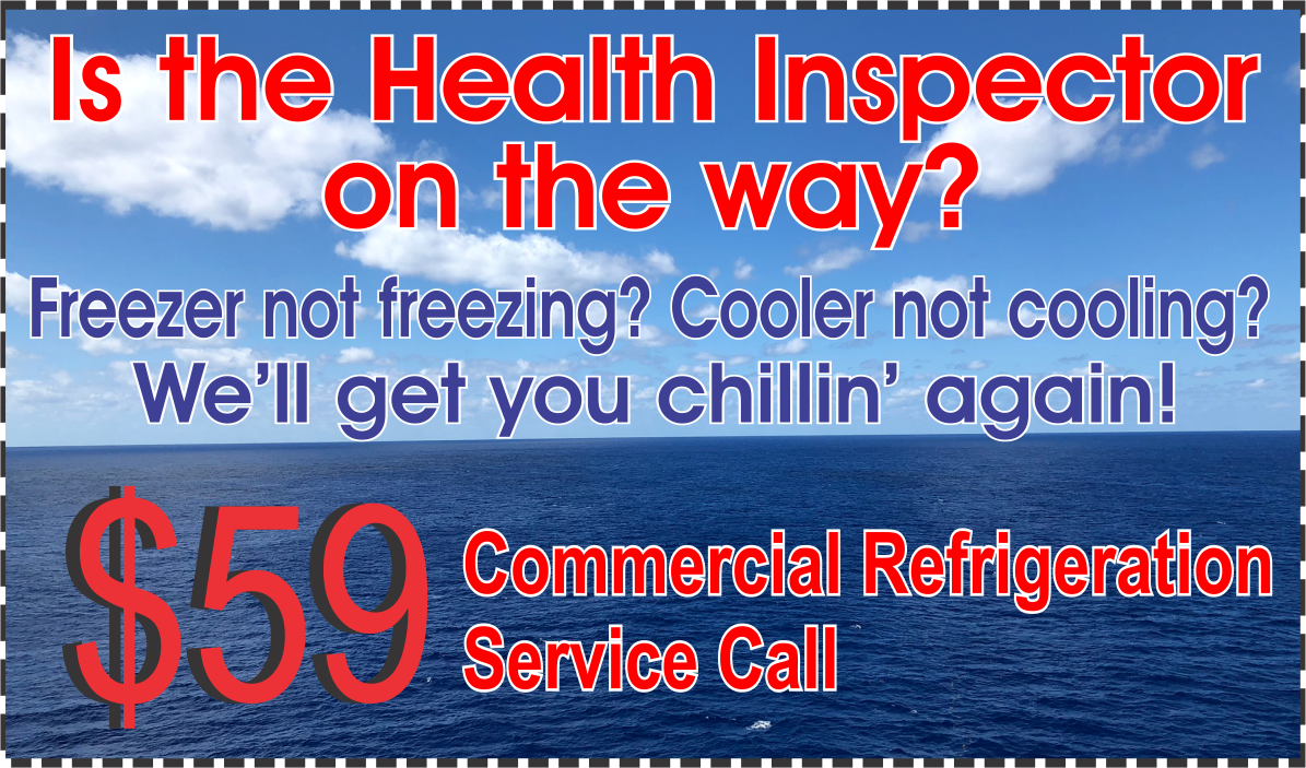Commercial 59 Refridgeration Service Call